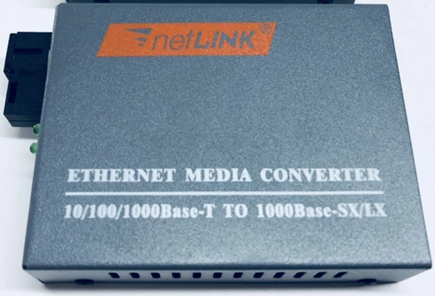 Gigabit Fiber-to-copper media converter incl. SFP 1550 (B) SC 20km